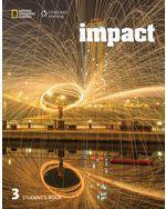 Impact 3, Student Book + Online Workbook PAC