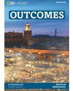 Outcomes Intermediate (2nd ed.), Student's Book + Class DVD