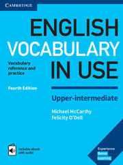 English Vocabulary in Use (4th Ed.) Upper-Int. with Ans. & eBook