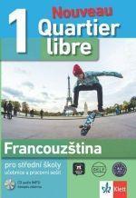 Quartier Libre Nouveau 1 (A1-A2), Učebnice s prac. sešitem + 2CD + časopis