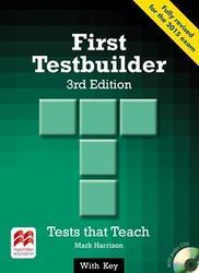 First Testbuilder 2015 (+ key & audio CD)