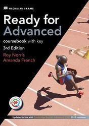Ready for Advanced (3rd ed.) 2015, Workbook & Audio CD Pack with Key