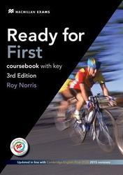 Ready for First (3rd ed.) 2015, Workbook & Audio CD Pack with Key
