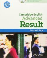 Cambridge English Advanced Result (New for the 2015 exam), Teacher's Book with DVD