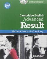 Cambridge English Advanced Result (New for the 2015 exam), Workbook with Audio CD without Key