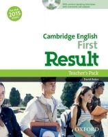Cambridge English First Result (New for the 2015 exam), Teacher's Book with DVD