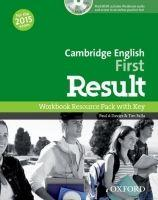 Cambridge English First Result (New for the 2015 exam), Workbook with Audio CD and Key