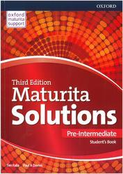Maturita Solutions 3rd Edition, Pre-Intermediate