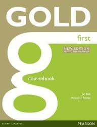 Gold First 2015, Coursebook with Online Audio