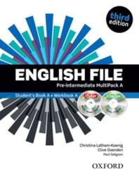 English File Third Edition Pre-Intermediate, MultiPack A