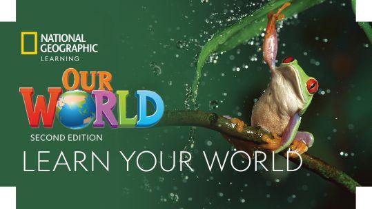 Our World 2. edice - nová edice oblíbené učebnice angličtiny pro 1. stupeň základních škol.